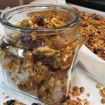 Homemade granola by Chef Celia Casey.