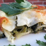 Take the tomatoes out of lasagna