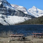 Two Medicine Lake at Glacier National Park is free of ice, park officials said.