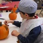The Morris Museum's Spooky Scavenger Hunt will also include pumpkin painting.
