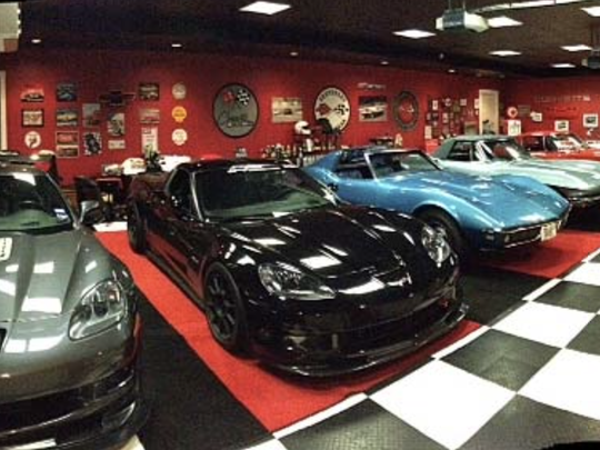 A Corvette collection belonging to Jeff Aiello, a relative of COR Development president Steve Aiello. Gov. Andrew Cuomo and Steve Aiello, who is now on trial with former Cuomo aide Joseph Percoco, discussed Corvettes when they first met.