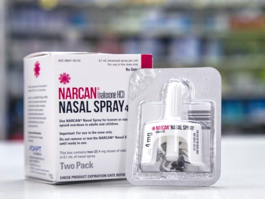 Naloxone, sold under the brand names Narcan and Evzio,