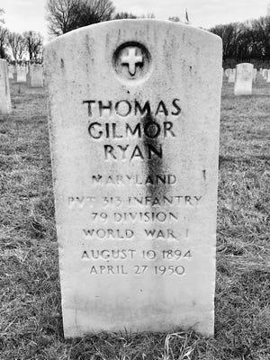 THomas Gilmor Ryan's burial site. (Leo Ryan)