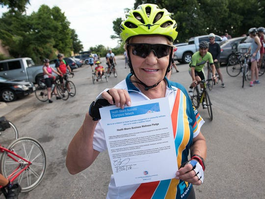 Fort Worth, Texas Mayor Betsy Price takes the Health