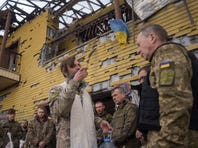 Tensions, violence rise in Ukraine as Western powers urge reforms