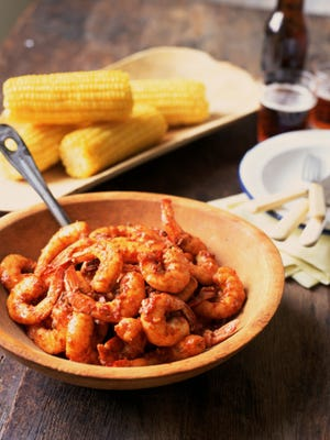 Creole shrimp like this is just one example of the type of Cajun food that will be served up at Geechee Bayou.