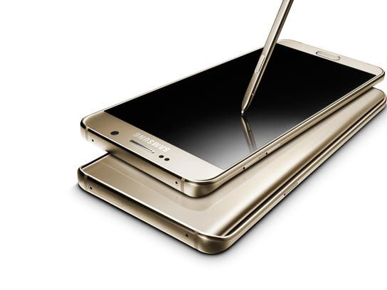 Samsung Galaxy Note5 (Gold)