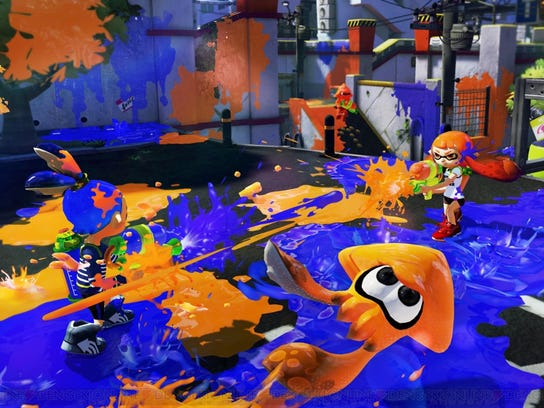 Splatoon is a new original game from Nintendo that