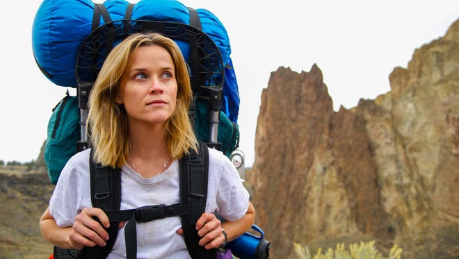 "Reese Witherspoon in a scene from the motion picture ""Wild."""