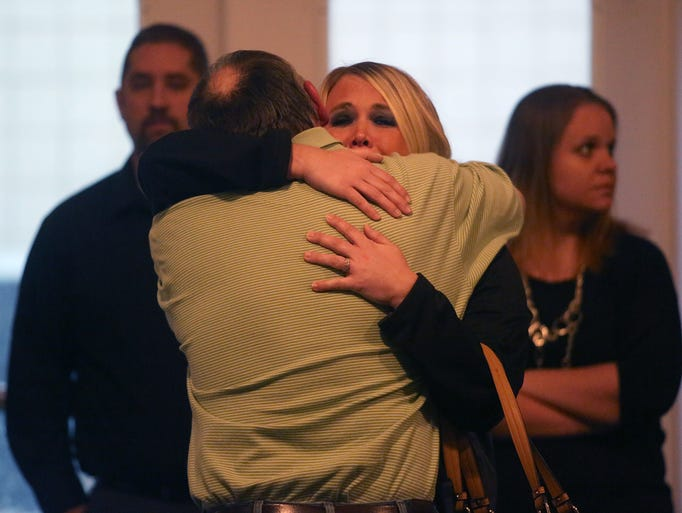 Friends and family of Joseph and Ashley Greubel of