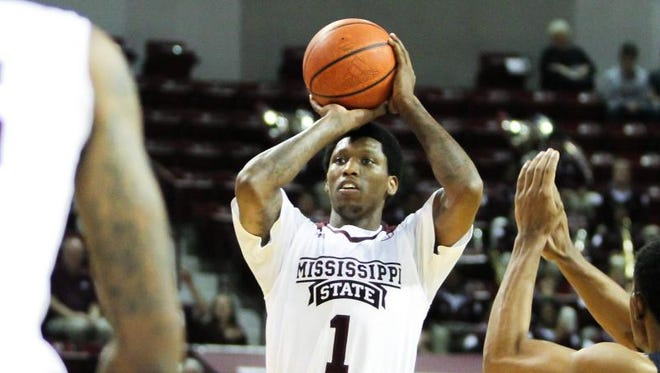 Mississippi State's Fred Thomas looks to help the Bulldogs improve from beyond the arc.