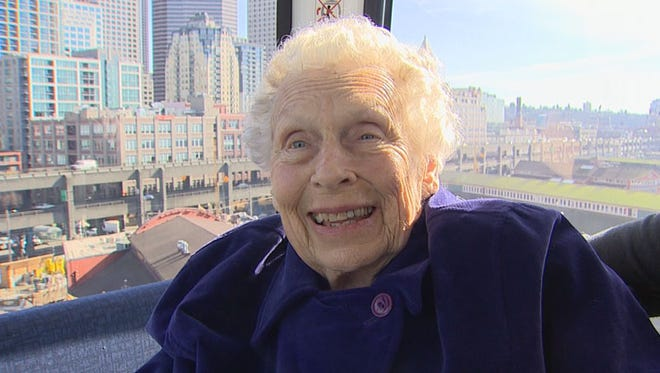 """Betty Van Dyke is doing """"something wonderful"""" every day that she has left."""