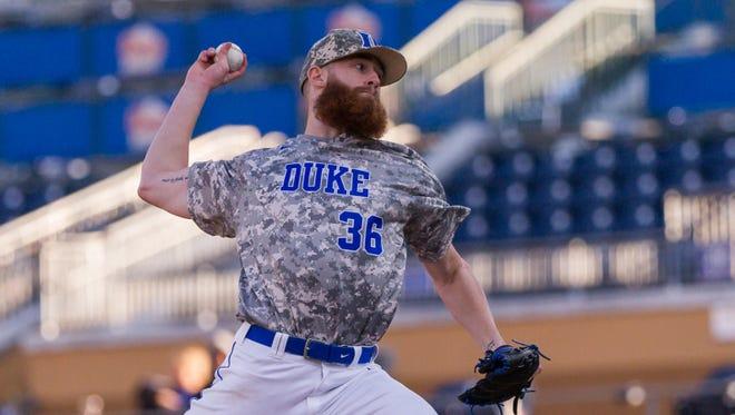 Asheville Christian Academy graduate Bailey Clark is a junior for the Duke baseball team.