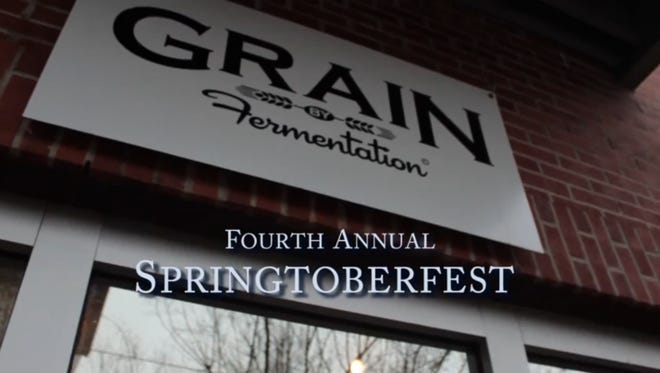 The Grain and Fermentation Lounge collaborated for Springtober Fest in the All Saints District.
