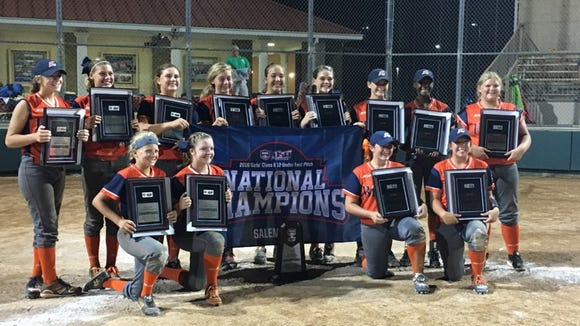 The East Cobb (Ga.) Bullets 2021 Heath team won the ASA/USA 12 and under Class A national championship on Sunday with big contributions from two local middle-school players.