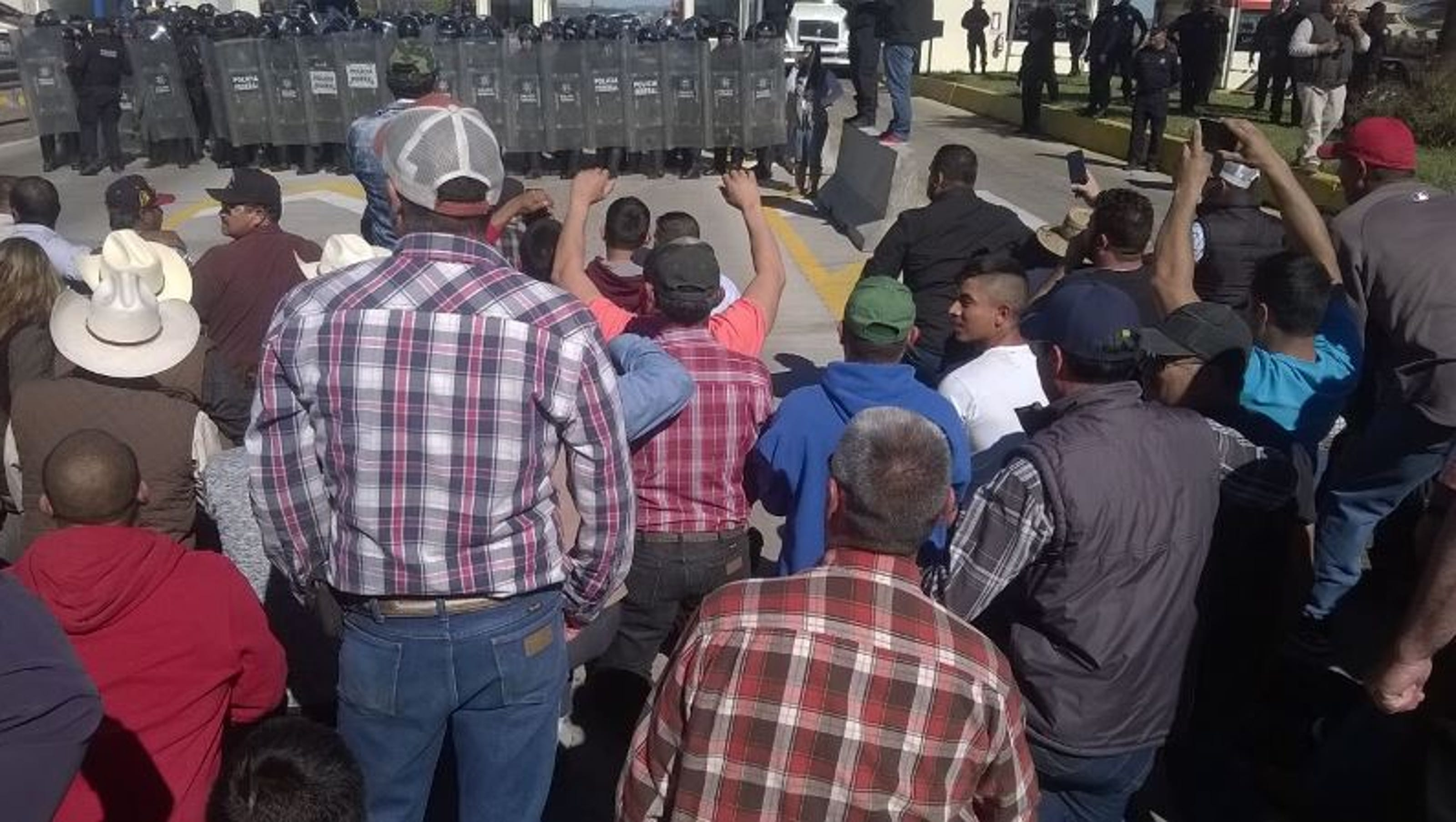 Chihuahua Hit By Protests El Paso Gas Prices Up
