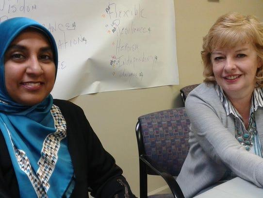 Ayesha Joz of the Muslim Community of Western Suburbs
