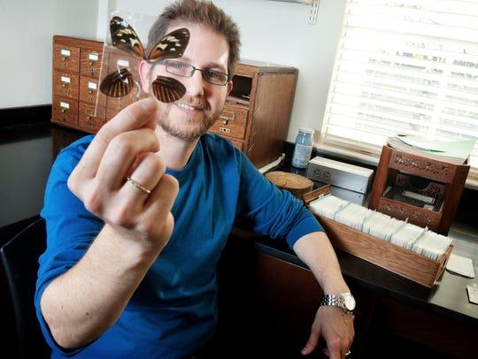 Brian Counterman, MSU associate professor of biological