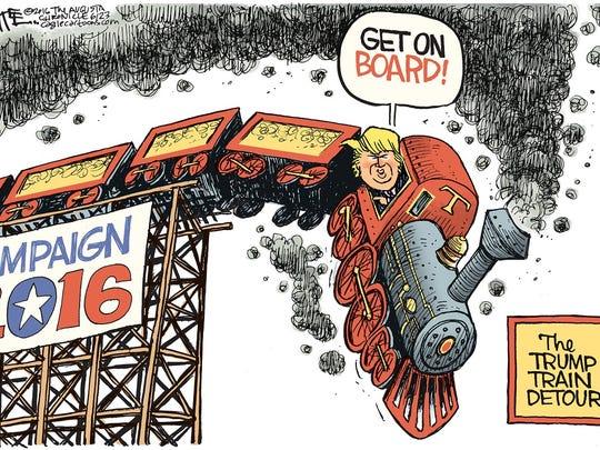 The Trump Train detour