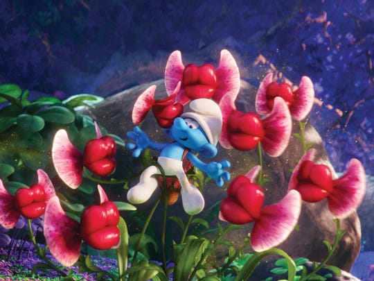 "Clumsy is one of the gang in ""Smurfs: The Lost Village."""