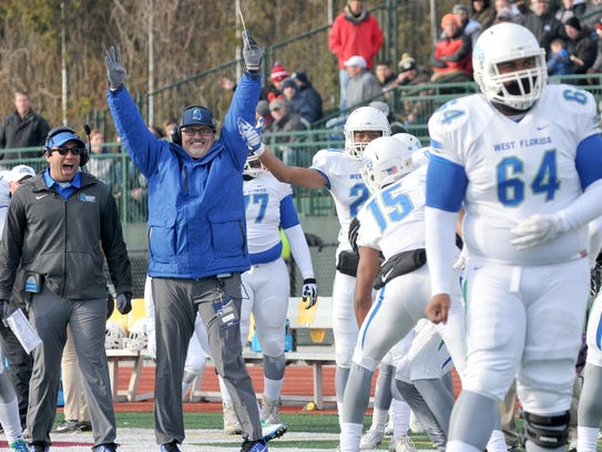 A meet and greet with UWF Football Coach Pete Shinnick and the Argos is planned before Saturday's Grand Mardi Gras Parade in downtown Pensacola. The Argos are the Grand Marshals of the parade.