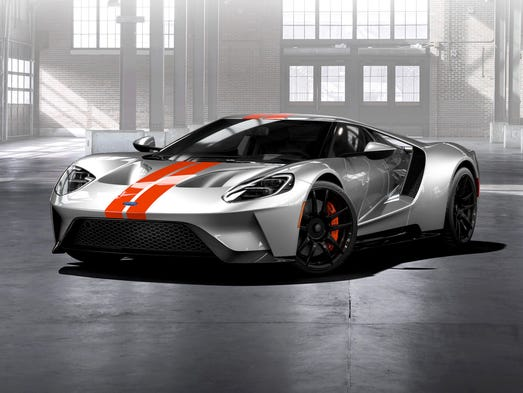 Ford has begun to take orders for its GT supercar,