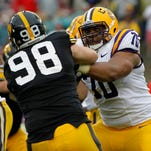 Former LSU offensive tackle La'el Collins reportedly had dinner Monday night with Rex Ryan in Baton Rouge.