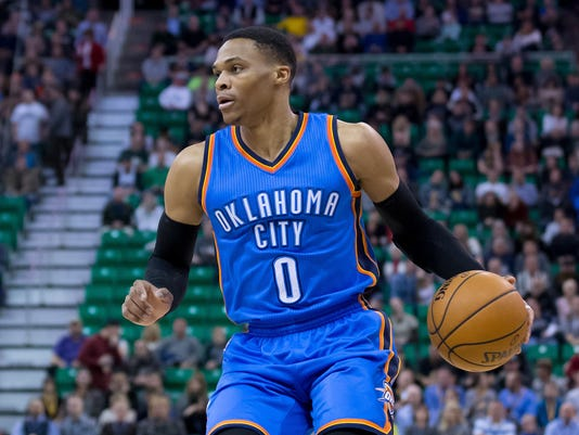 6e1c25cea0a2 Russ on the road  Westbrook s Thunder move on without Kevin Durant