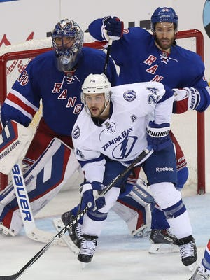 Goalie Henrik Lundqvist, Dominic Moore and the Rangers are anticipating a much better performance from Ryan Callahan and the Lightning in Game 2 Monday night.