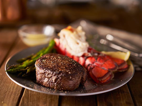 Few dishes say Valentine's Day quite like surf and turf.