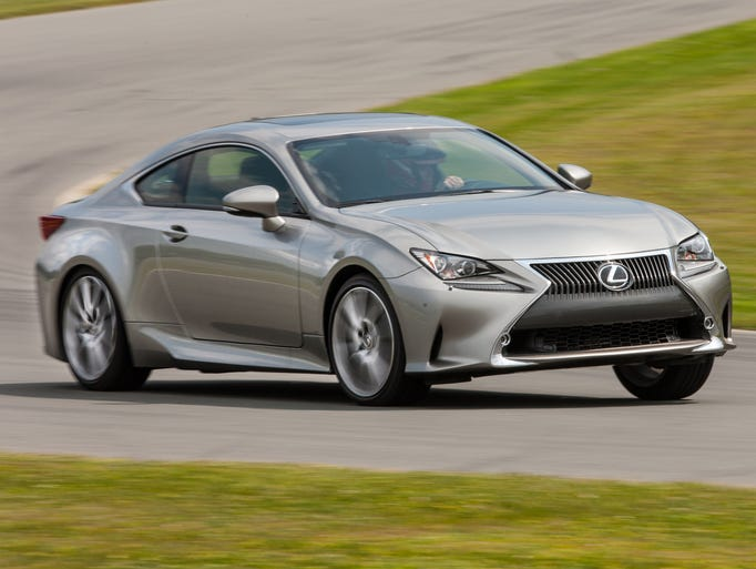 Lexus unveils the RC, a sporty coupe that is aimed at drivers who appreciate fine handling