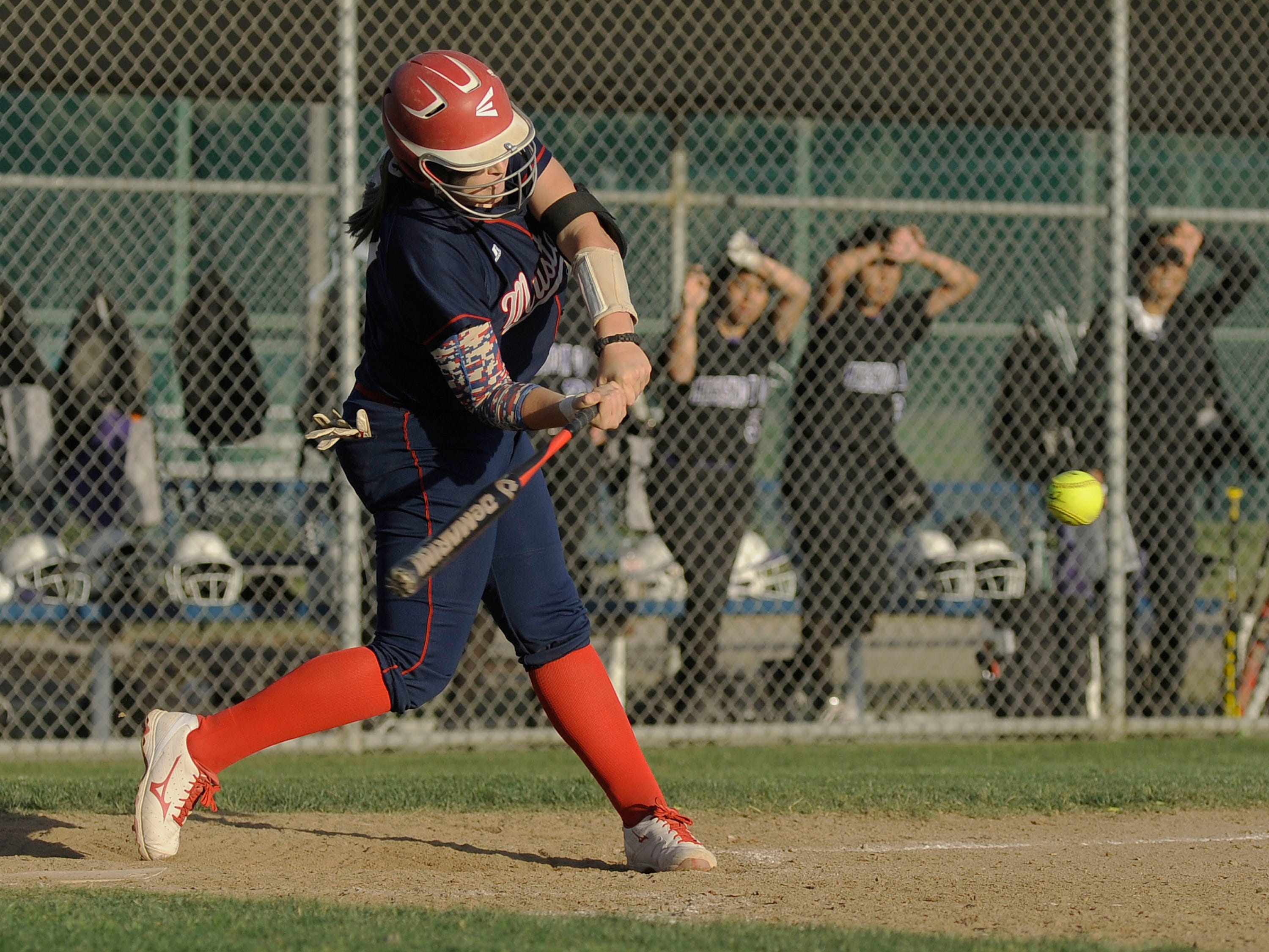 Tulare Western's Kelcey Carrasco is tied for the Central Section lead in home runs with 10. She is a Michigan State verbal commit.