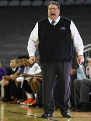 University of Evansville's  Head Coach Marty Simmons