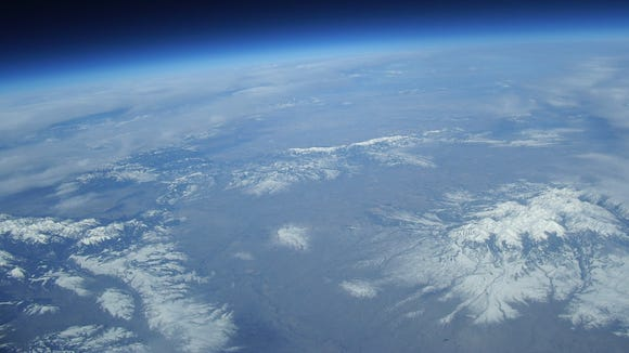 The view from 100,000 feet, part of NASA's Eclipse live-streaming project
