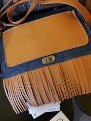 Handcrafted bags by Haitham Al Hamwi, at the Harrison