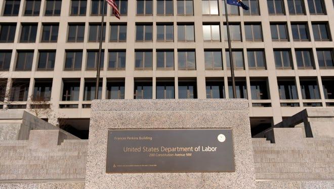 Labor Department in Washington.