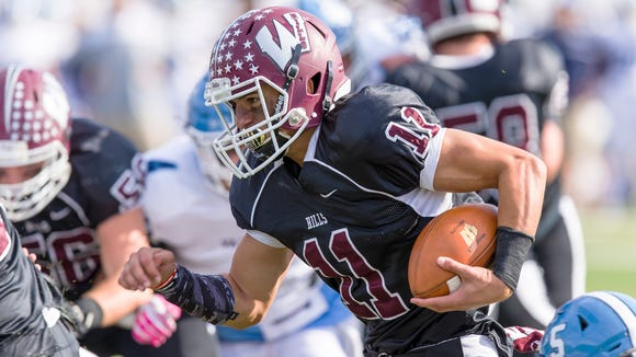 Wayne Hills junior QB Jaaron Hayek committed to Rutgers on Monday.