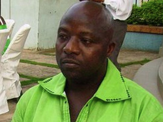 Thomas Eric Duncan attends a wedding in Ghana.