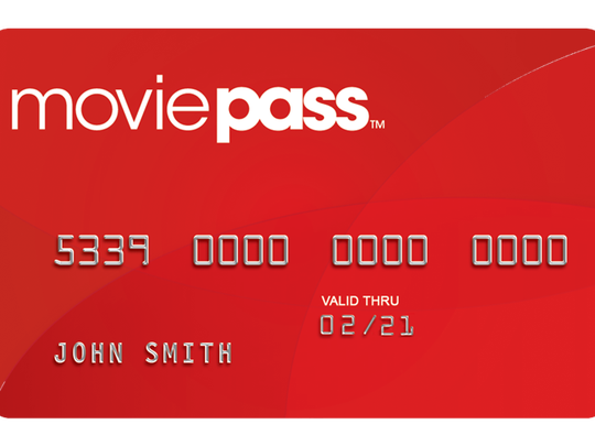 MoviePass works like a debit card, which you use at