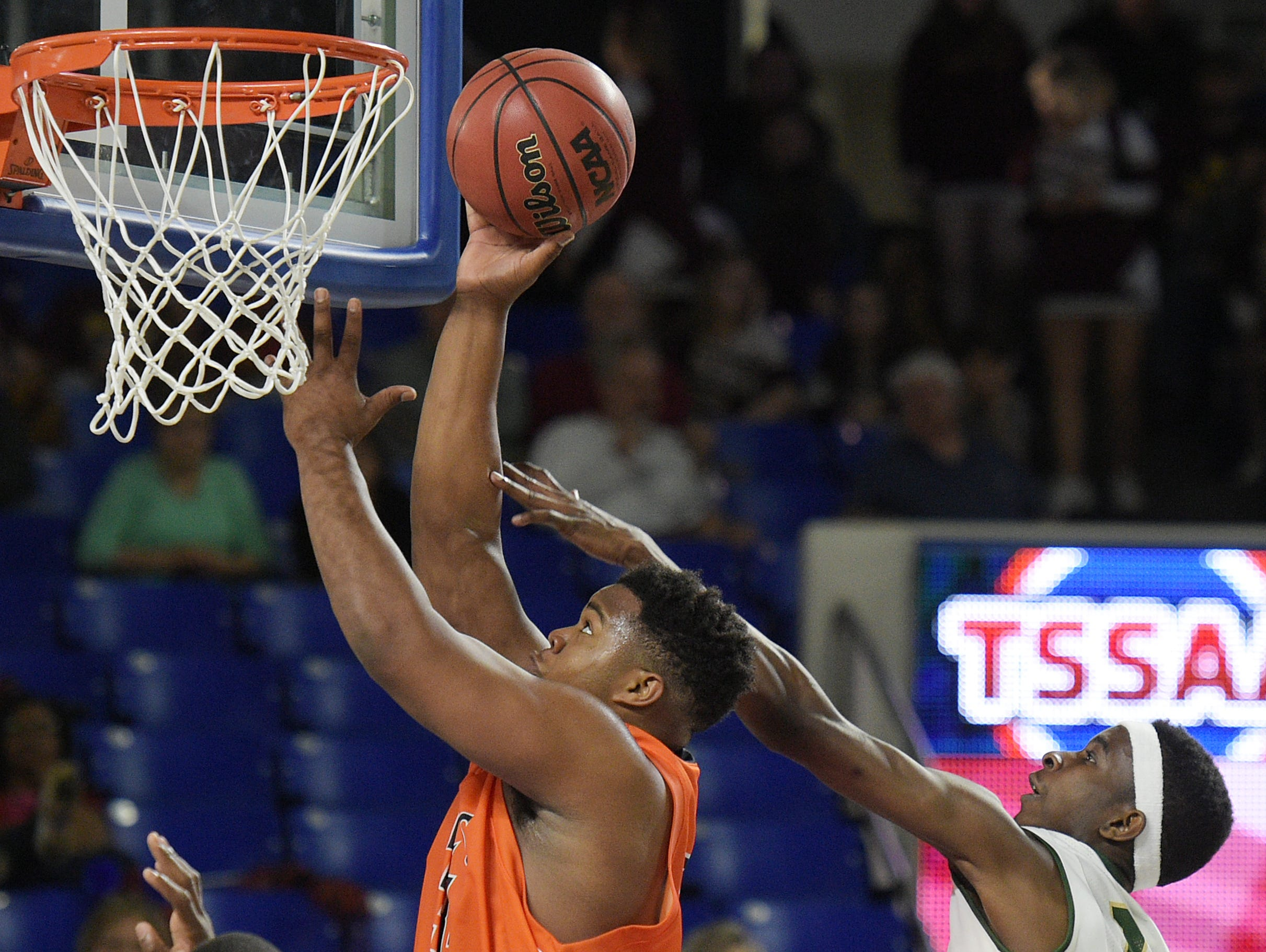 Brant Lawless also plays power forward and center on Nashville Christian's basketball team.
