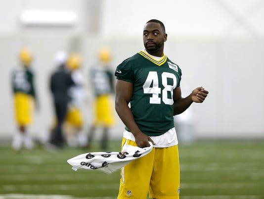 GPG ES Packers OTA practice 6.6.16