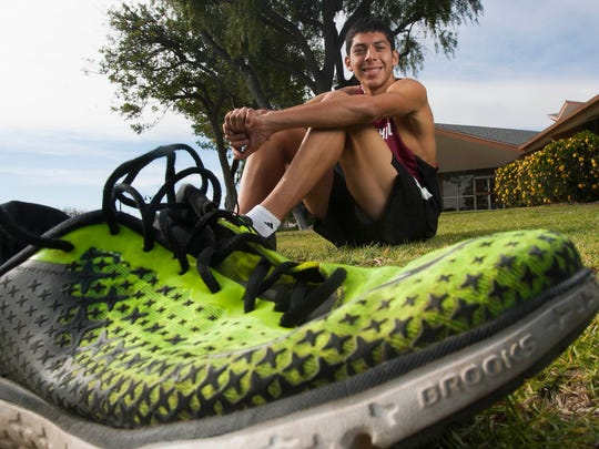 Jared Rodriguez, who is set the pace for Foothill Tech, which won section and state titles, is the The Star's Boys Cross Country of the Year.