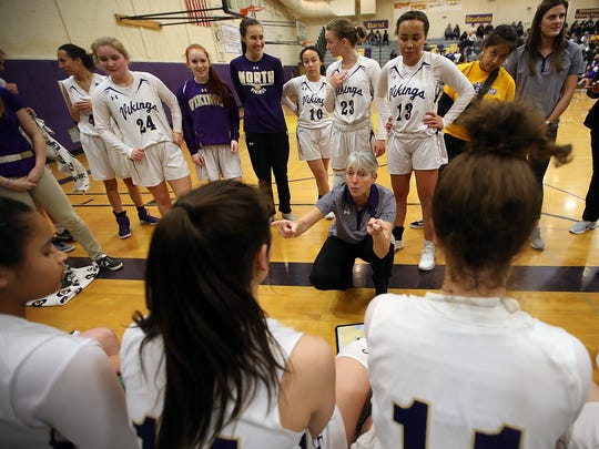 Penny Gienger coached North Kitsap for six seasons. She retired after leading the Vikings to the regional round of the Class 2A state tournament during the 2019-20 season.