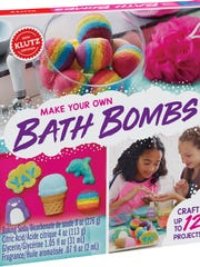 These 45 toys and products have earned the NAPPA seal of approval in 2017. Pictured are Bath Bombs.