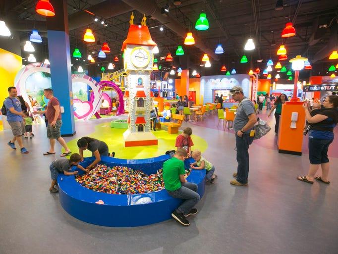 Sneak peek: Inside the Legoland Discovery Center at ...