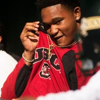Rico Dowdle signed to play college football for South Carolina on Wednesday.