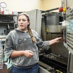 Welding is skilled labor of love for CMR student