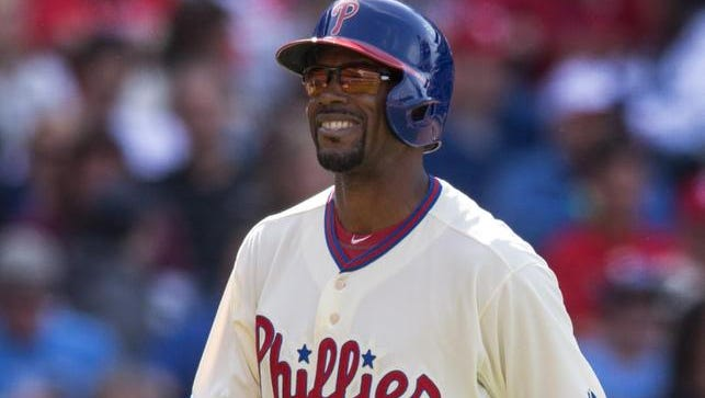 Phillies shortstop Jimmy Rollins is a big part of the team's aging core.
