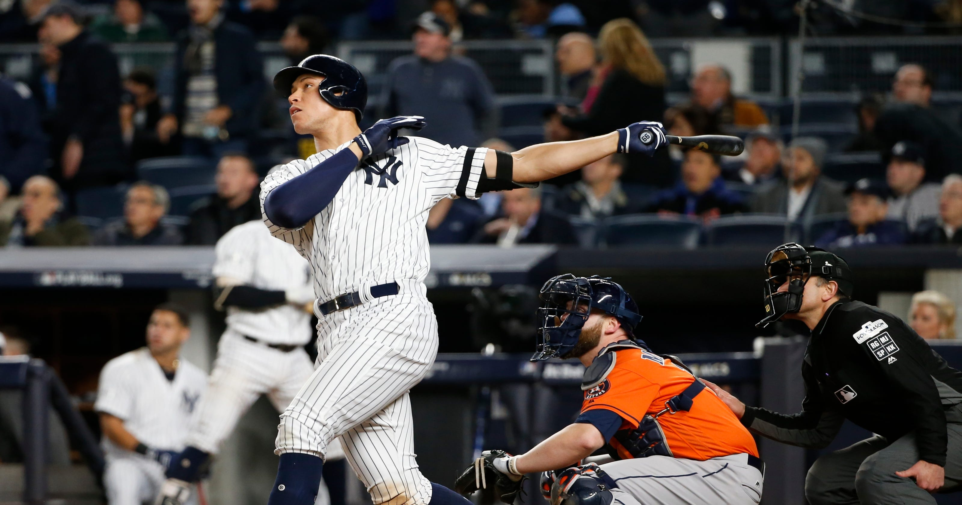 Yankees Aaron Judge Is No 1 In 2018 Topps Baseball Card Series