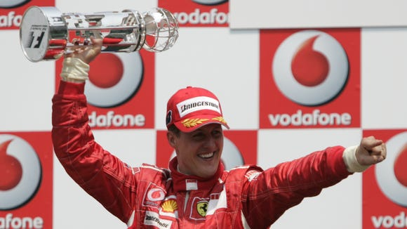 Michael Schumacher won the 2006 Formula One race at Indianapolis Motor Speedway.